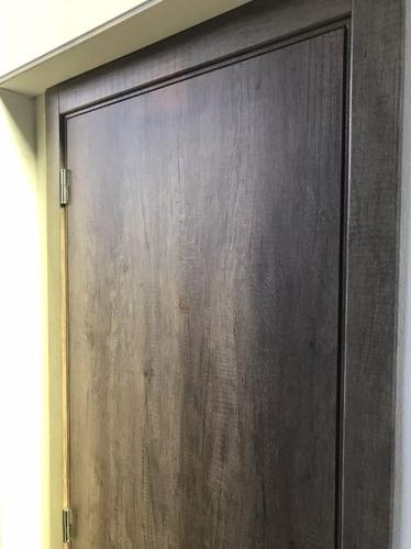 puerta placa oblak tekstura melamina nogal 80-10  m/madera