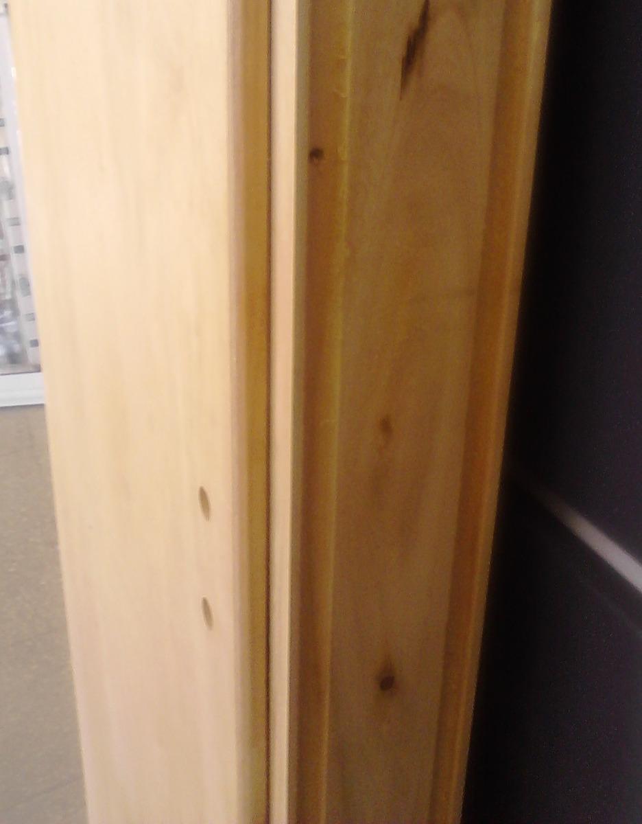 puerta placa para durlock cedrillo marco madera macizo