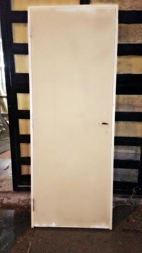 puerta placas ,con marco de madera completa!!!
