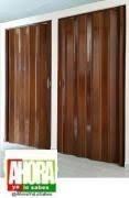 puerta plegable .80 x 2.03 nogal venso empaque original