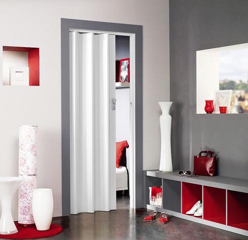 puerta plegable con imán