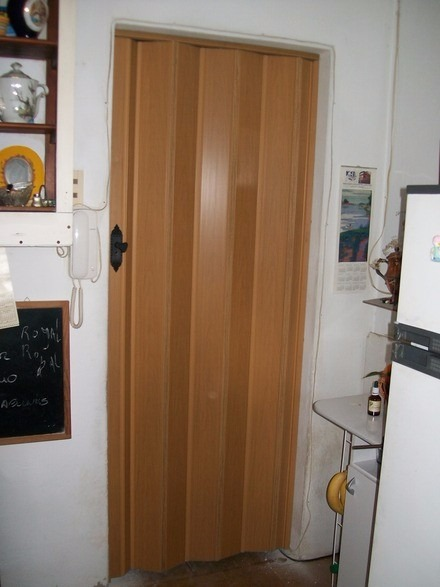 Puerta plegable de pvc excelente divisor de ambientes - Puertas plegables de pvc ...
