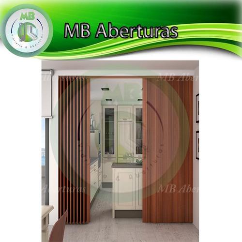 puerta plegable en pvc 0.60 * 2.10 excelente calidad!!