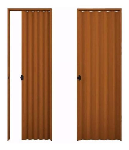 puerta plegable en pvc - medidas y colores - 160 x 200