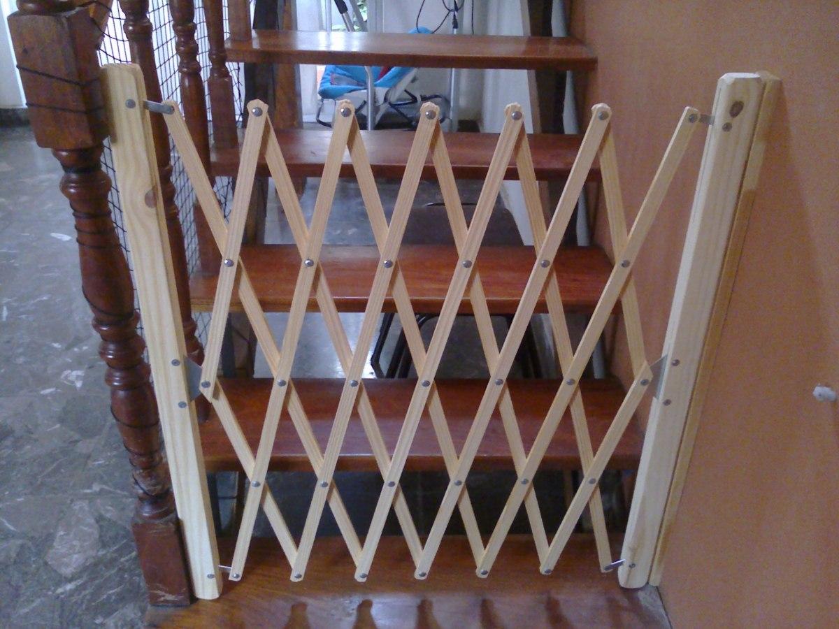 Puertas para escaleras proteccion seguridad puerta barrera - Proteccion de escaleras para ninos ...