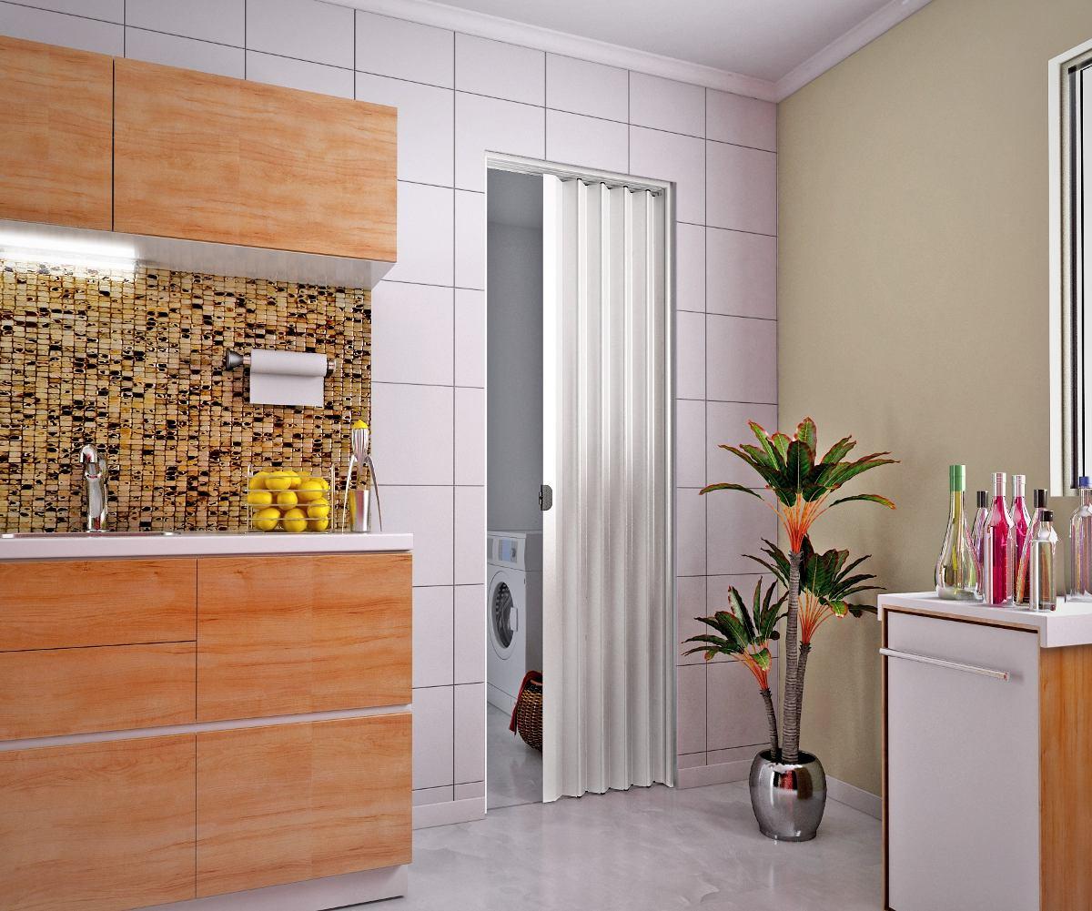 Puerta plegable para lavaderos ajustable a tus medidas for Puerta lavadero