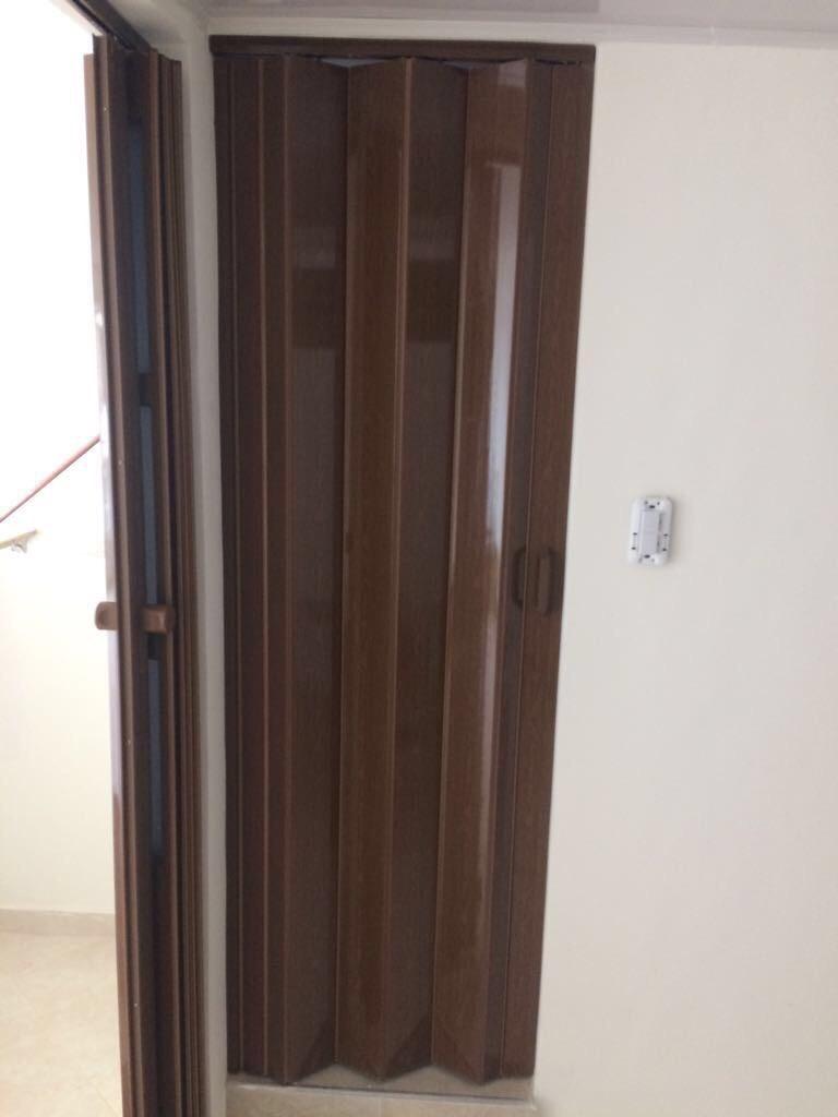 puerta plegable pvc de 90 x 200 cm en mercado libre