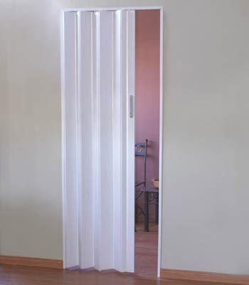 puerta plegadiza reforzada de pvc de 10mm  (completa)