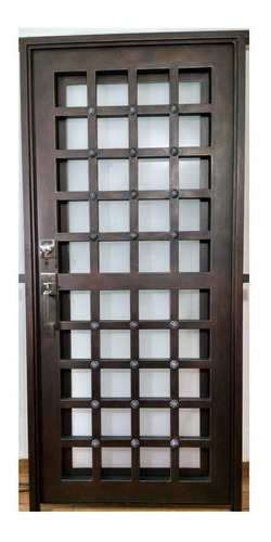 puerta principal de herreria forja medieval