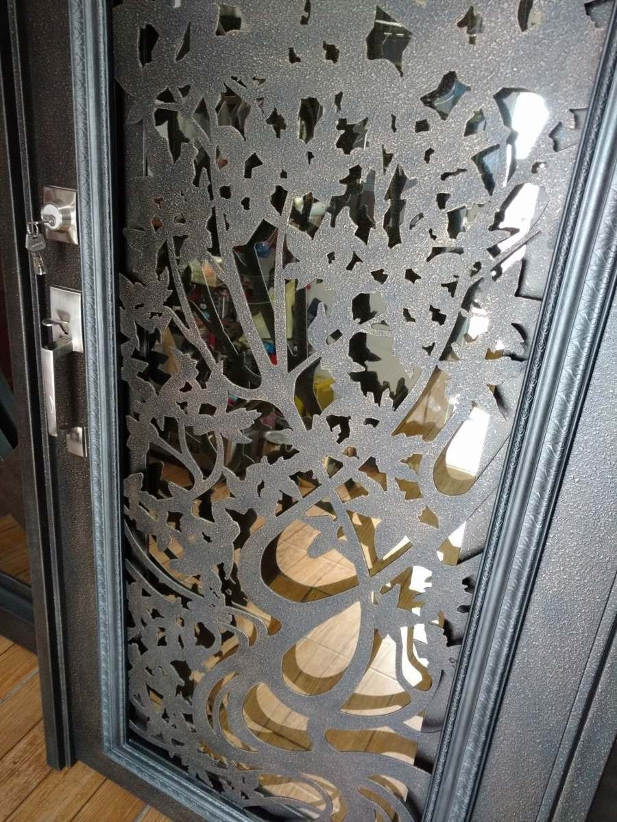 Planifique Sus Puerta Blindada Exterior Blanca Fotos De Puertas Decoración
