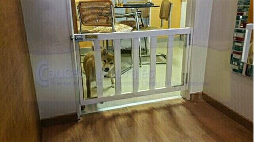 puerta protección desmonta/reforz perros/bebes envio gratis