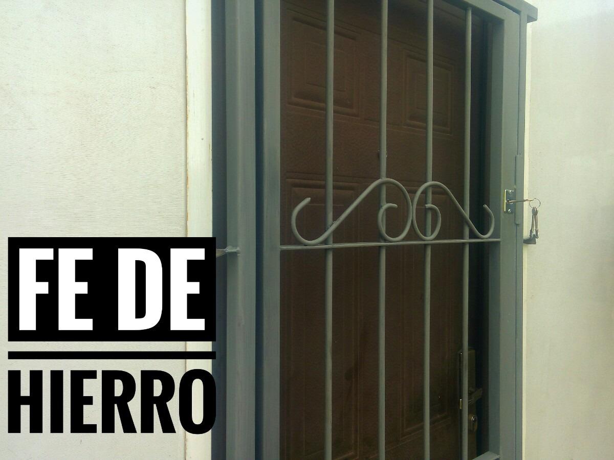 Puerta reja envio gratis herrer a en - Puertas de reja ...