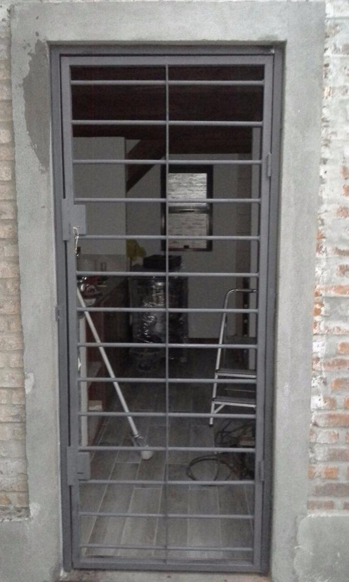 Puerta reja hierro 16mm y ca o d 2mm espesor hierro total - Puertas de reja ...
