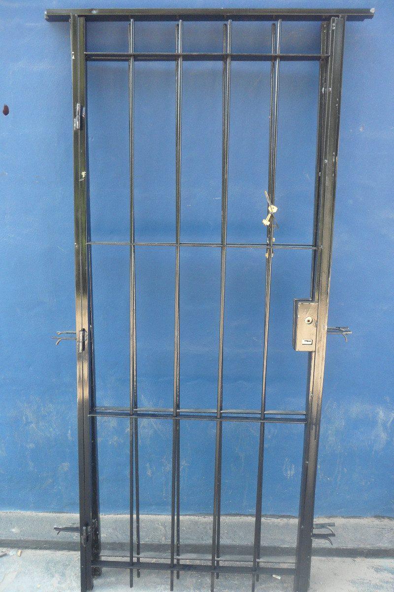 Precio cerradura puerta top no hace falta sustituir la - Rejas exteriores ...