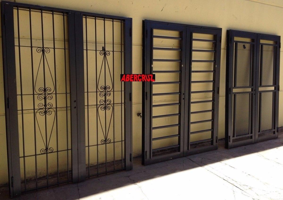 Puertas de hierro exterior puerta de hierro forjado for Puertas de chapa para exterior