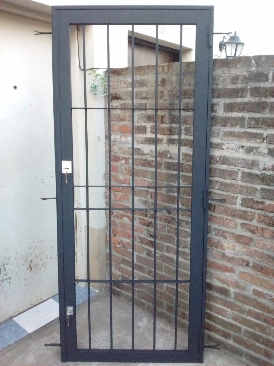 Puertas de rejas de hierro best rejas with puertas de rejas de hierro good hierro forjado - Puertas de reja ...