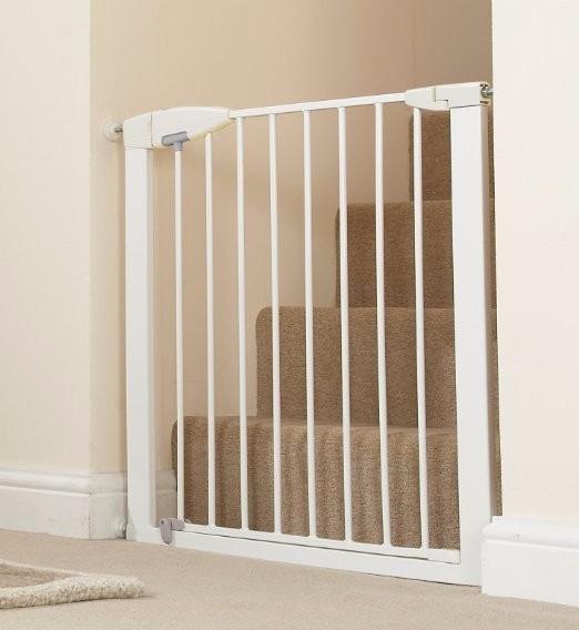 Puerta Reja Seguridad Bebe Munchkin Easy Close Metal
