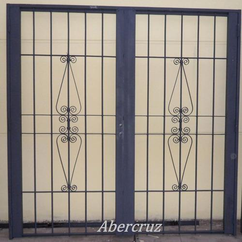 puerta reja seguridad linea premium 80x200