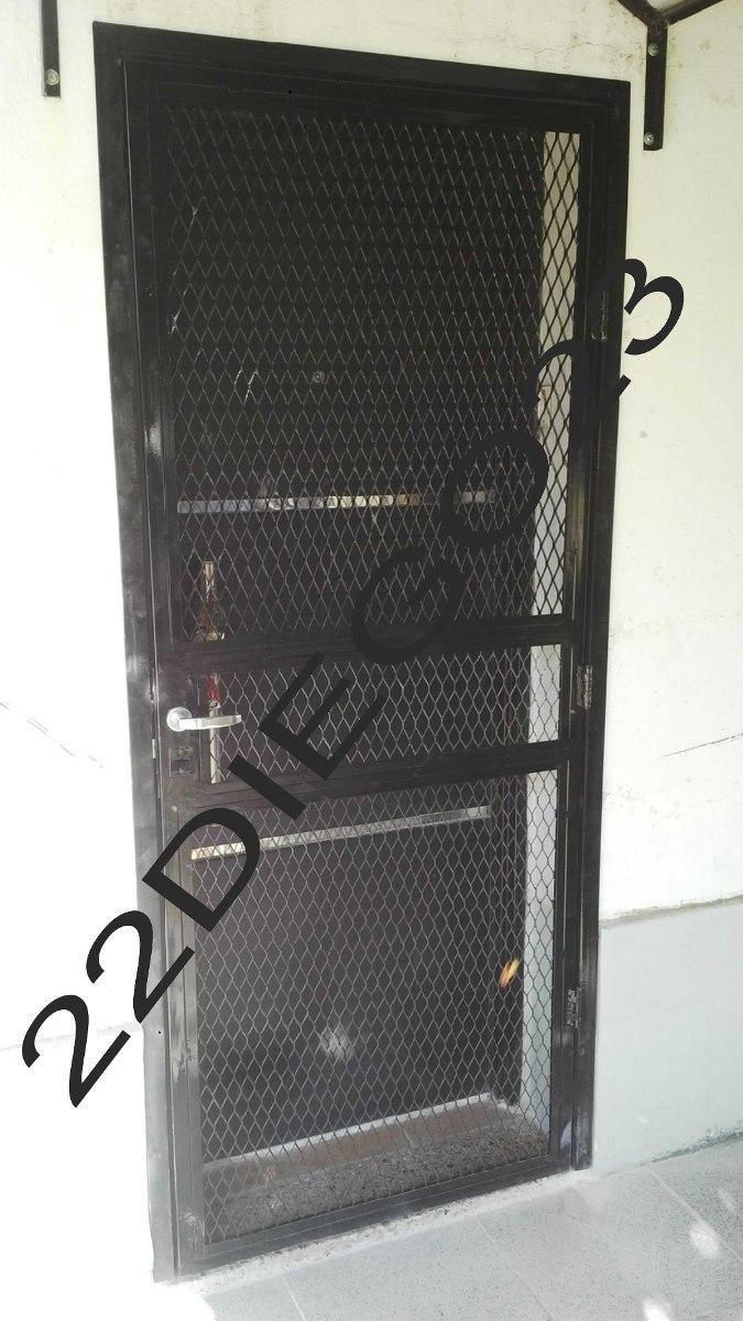 Puerta Reja Seguridad Marco - $ 4.649,68 en Mercado Libre