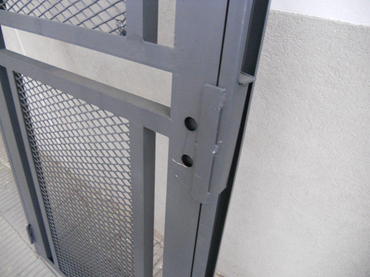 Puerta Reja Seguridad Maya De Acero Marco Reforzado 70x200 - $ 4.499 ...