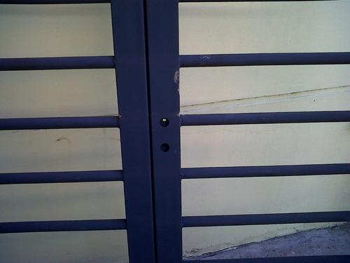 puerta reja tubo hierro 200x200 doble hoja premium chapa18