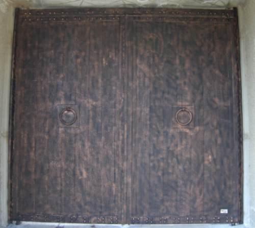 Puerta romana de herreria rustica fina metro cuadrado for Precio por metro cuadrado de pintura