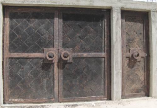 Puerta Romana De Herreria Rustica Fina. Metro Cuadrado