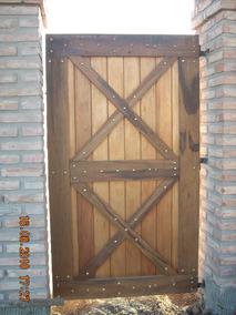 Puerta Rustica Y Puerta Establo Madera Dura