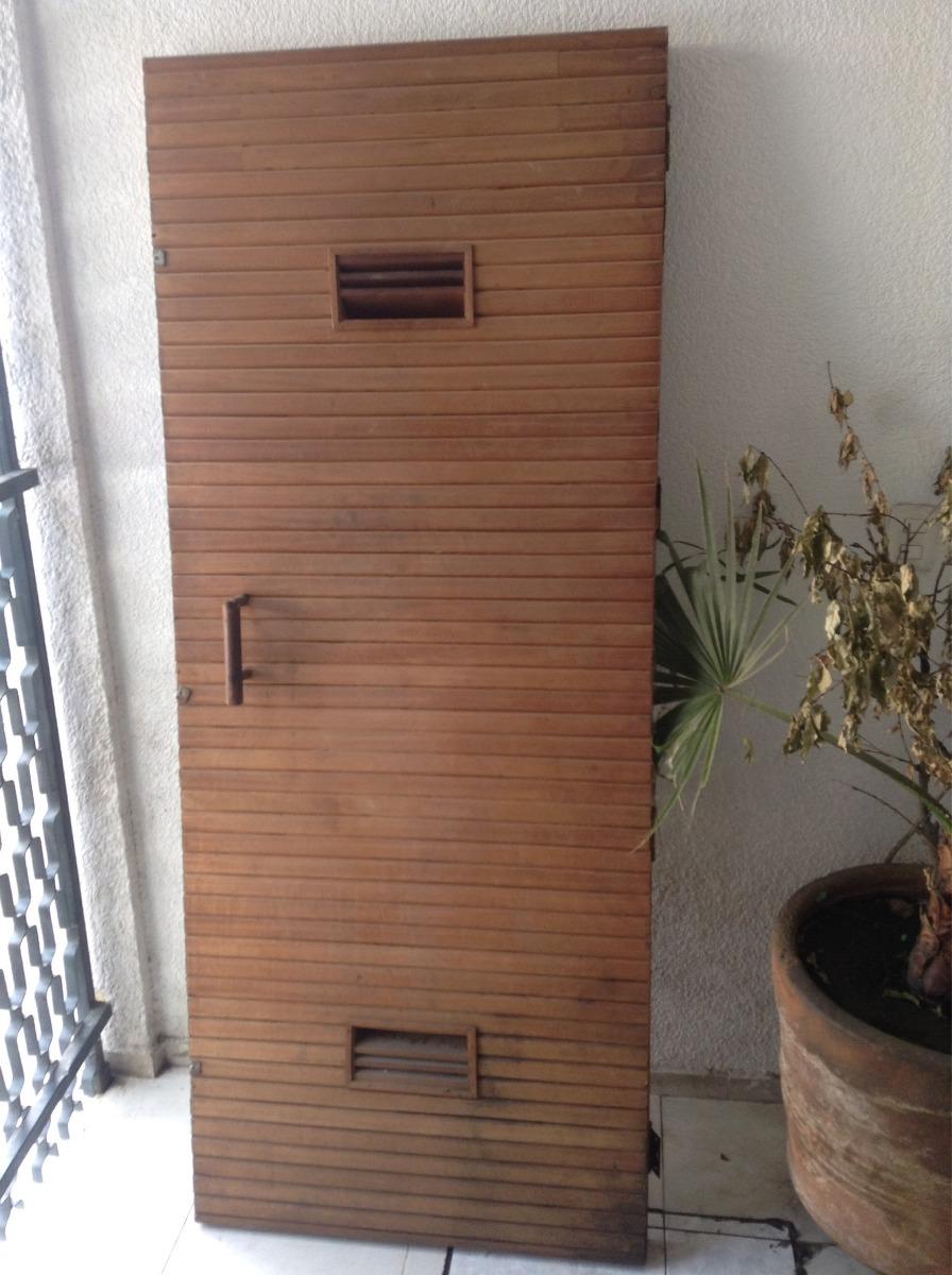 Puerta Sauna Madera 250000 En Mercado Libre - Sauna-madera