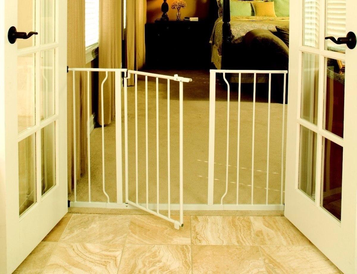 Reja puerta de seguridad para bebe o mascota super ancha 1 en mercado libre - Seguro para puertas bebe ...