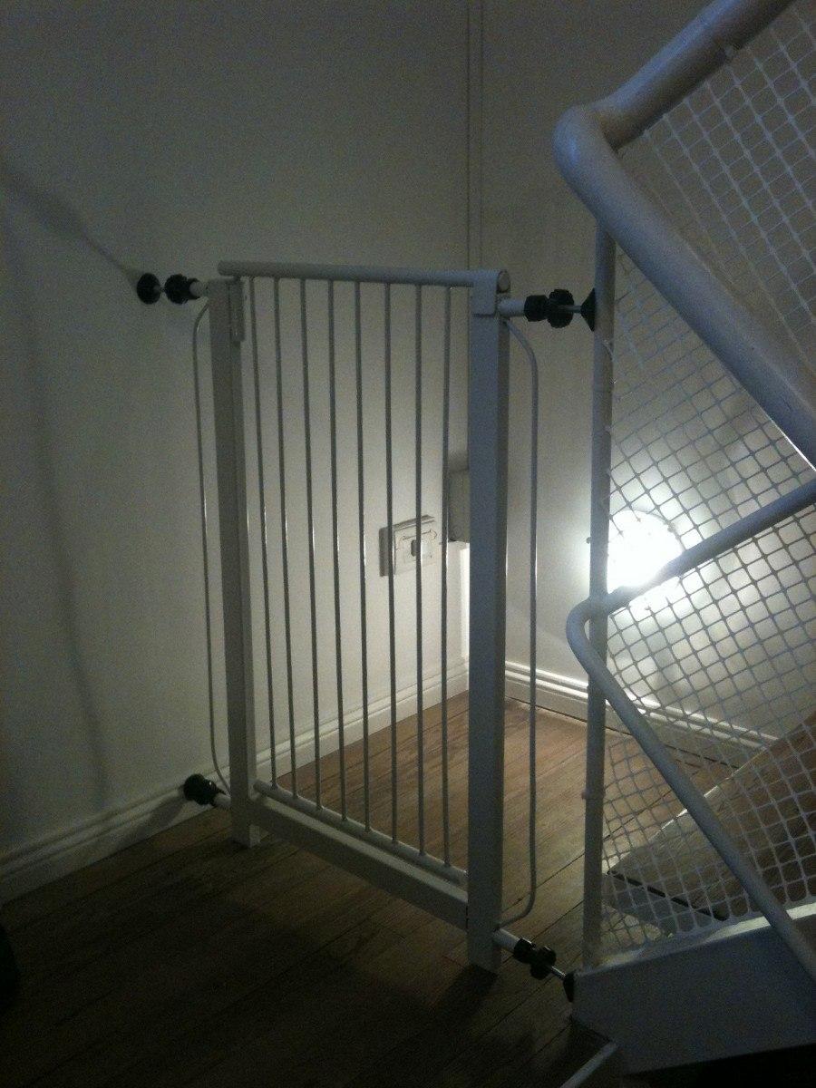 Puerta proteccion seguridad bebes ni os puertas escaleras - Puertas escaleras bebes ...