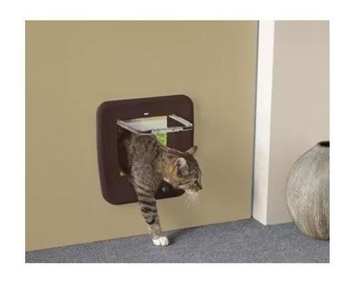 puerta seguridad p/ gato access 4 way magnetic café savic