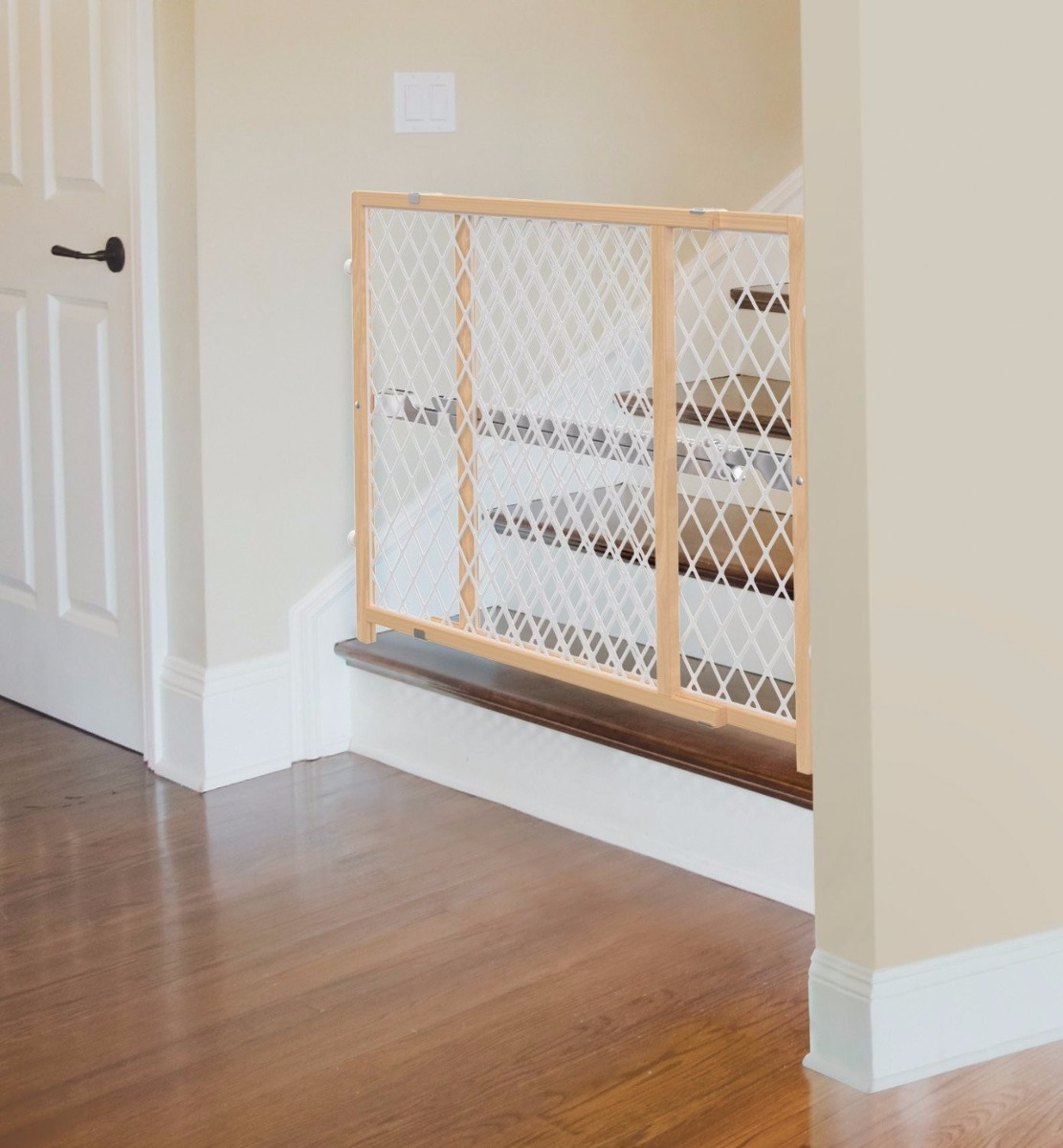 Reja puerta de seguridad para bebe o mascota barandal - Seguro para puertas bebe ...