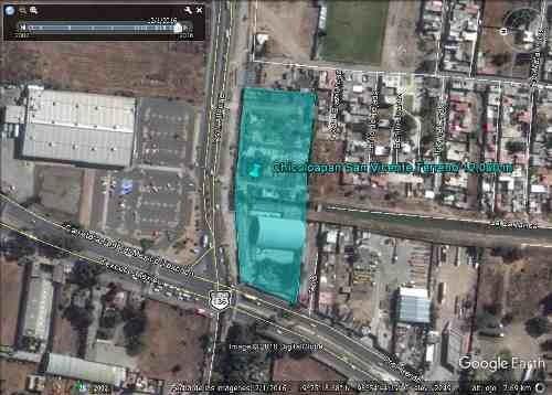 puerta texcoco *** terreno comercial en esquina *** 12,000m2