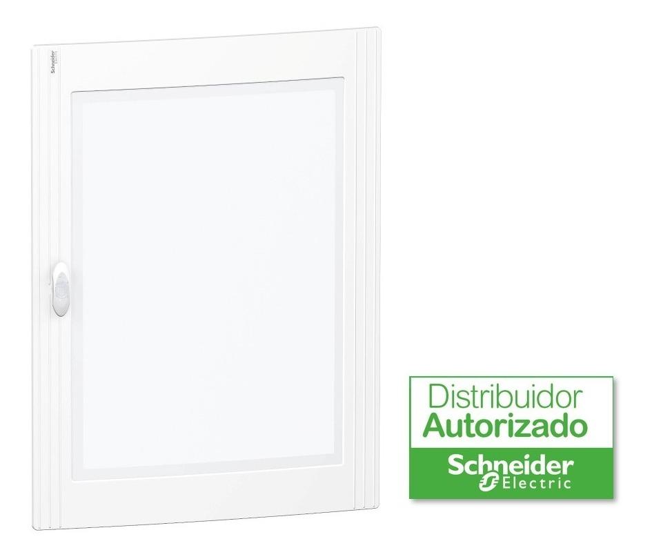 Puerta Transparente Para Gabinete Pragma Para Armario Empotrado 4 Filas X 24 Módulos 96 Polos Schneider Electric