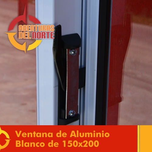 puerta ventana aluminio balcon persiana y mosquitero 150x200