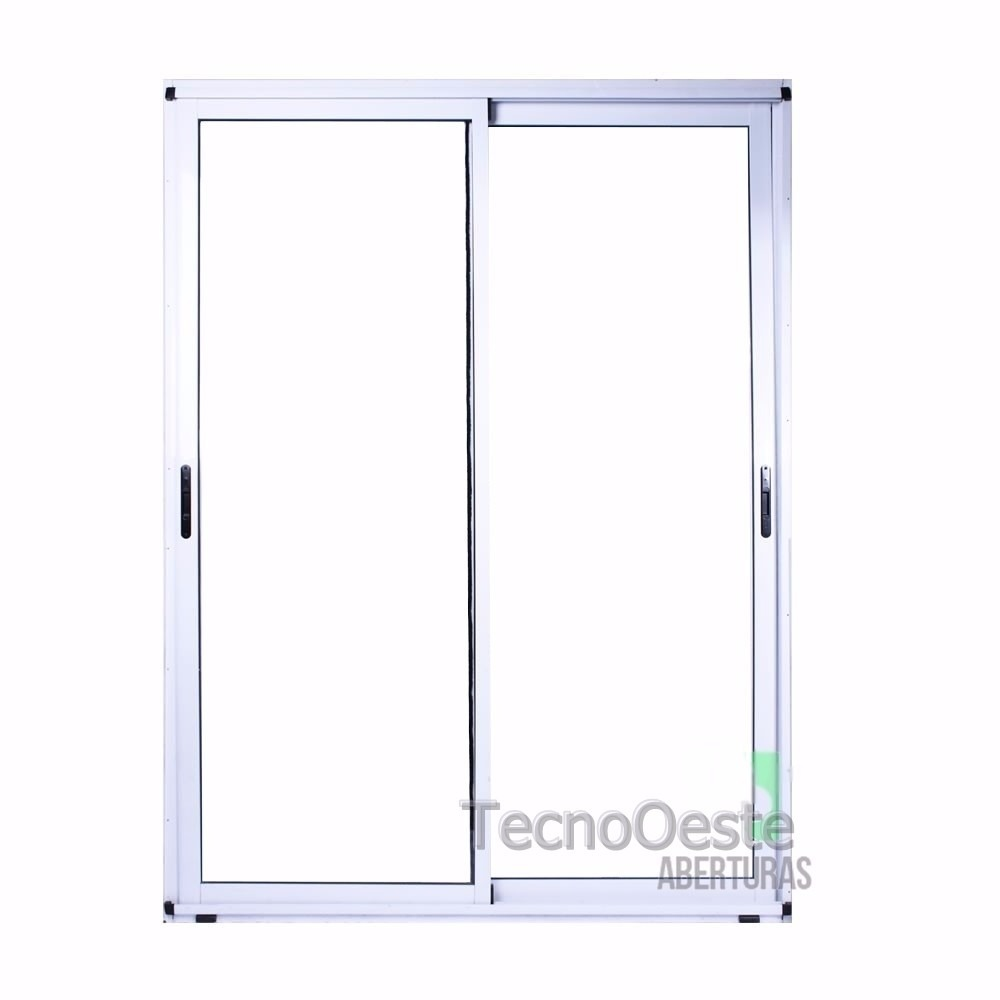 Puerta Ventana Aluminio Blanco 160x200 Módena Tecnooeste - $ 9.400 ...