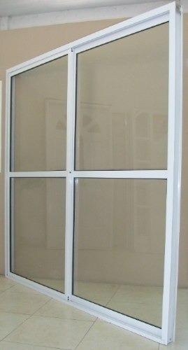 puerta ventana balcón aluminio blanco 200x200 tecnooeste