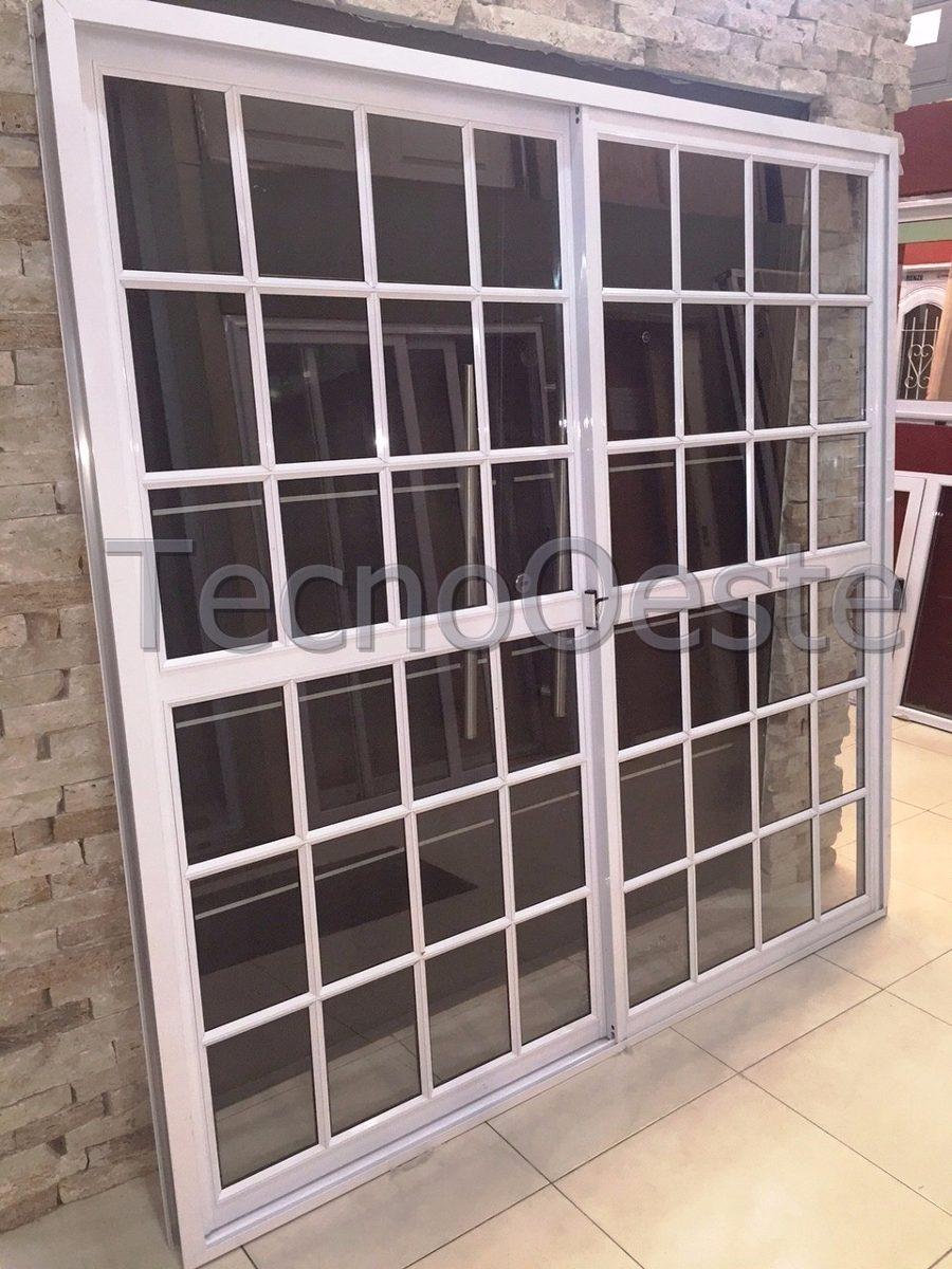 Puerta y ventanas de aluminio great with puerta y for Puerta balcon aluminio