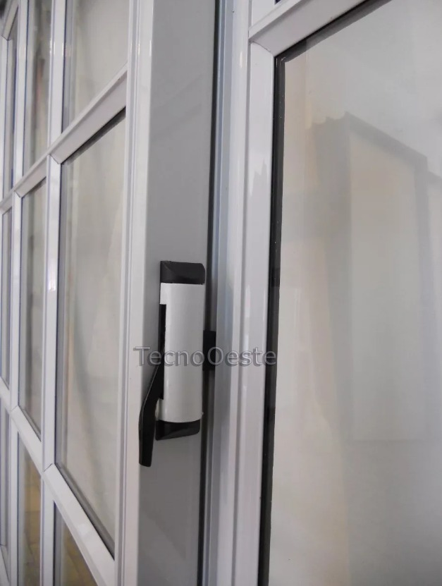 Puerta Ventana Balcon Aluminio Blco Vidrio Repartido 240x200 ...