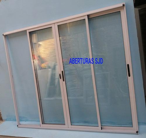 puerta ventana balcon modena  400x200 vidrio dvh 4+9+4 09
