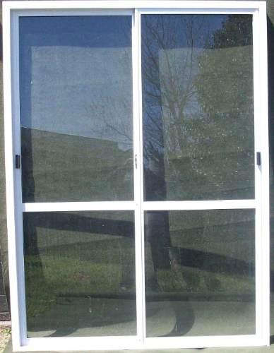 Ventanas de aluminio blanco blanco marco de aluminio for Ventana balcon medidas