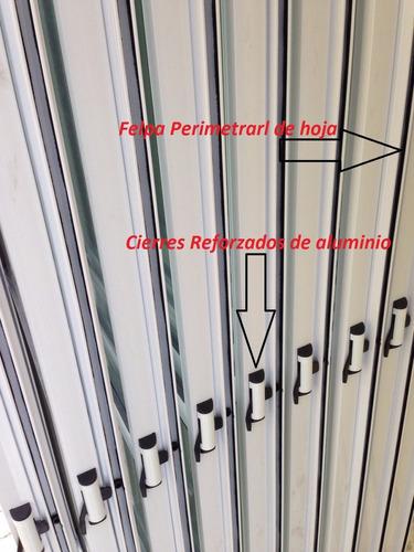 puerta ventana balcon vidrio entero  reja maya abrir 200x200