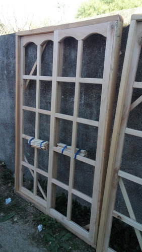 Puerta ventanas de madera a medida en mercado for Mercadolibre argentina ventanas de madera