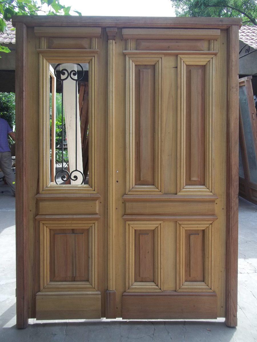 Puertas De Entrada Doble Hoja - Aberturas Puertas Exteriores De ...