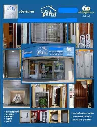puerta y media / residencial doble chapa con apliques
