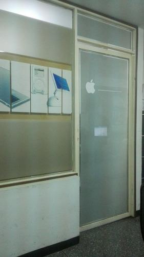 puerta y ventanal de vidrio para negocio o local comercial