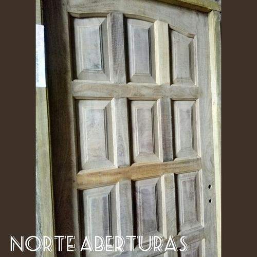 puertas algarrobo a medida