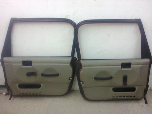 puertas altas para jeep wrangler 97-06 tj