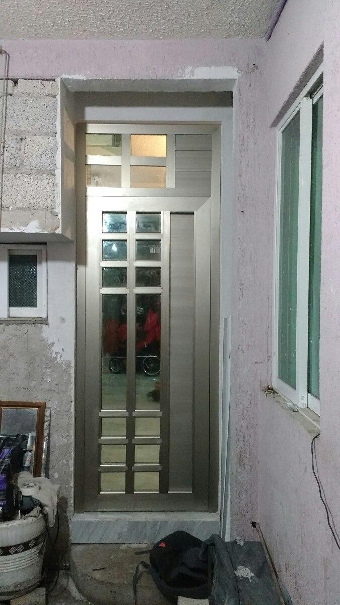 Puertas aluminio en mercado libre for Puertas de aluminio para entrada principal